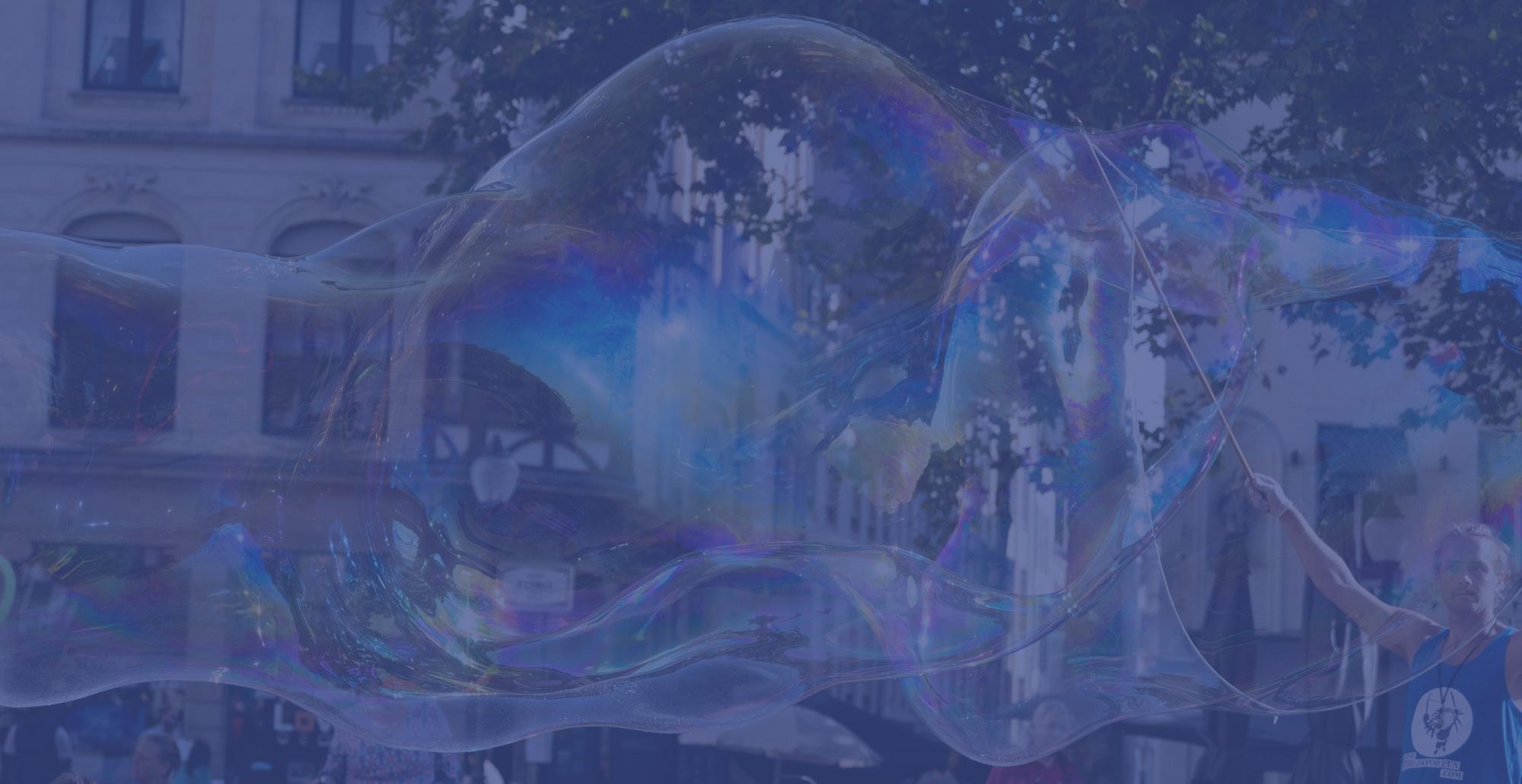 Bubbles for fun